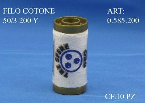 Filo Cucirino 50/3 in Cotone