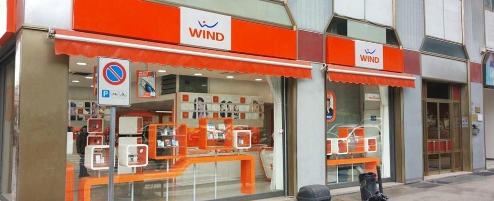 facciata di negozio wind
