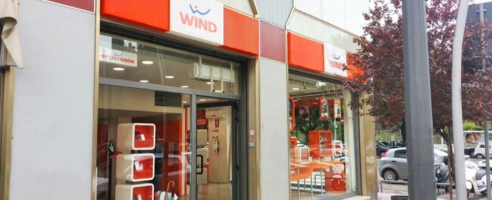 negozio wind dall'esterno