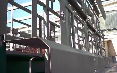 Dettaglio di una lavorazione in ferro