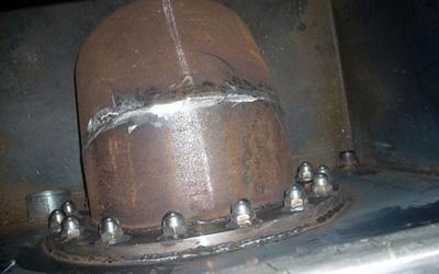Manufatto industriale in ferro
