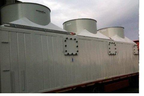 Container ad uso industriale in ferro