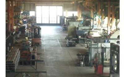 Panoramica dell'interno dell'azienda