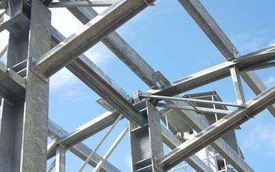 Dettaglio di struttura in ferro