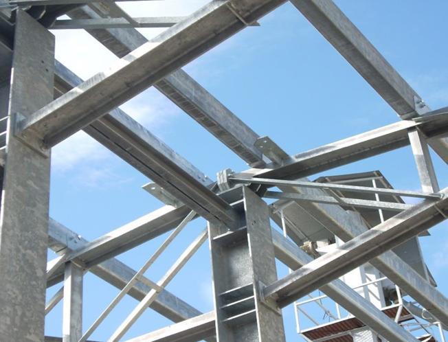 Struttura edile in metallo