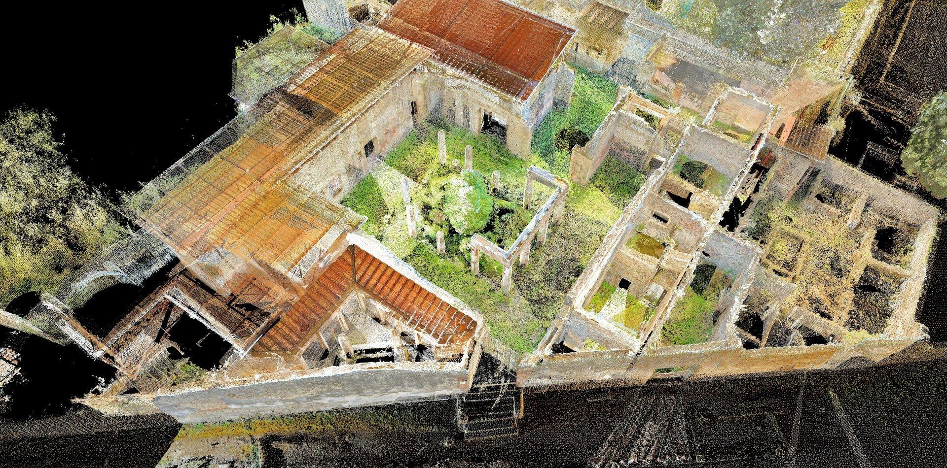 rilievi siti archeologici