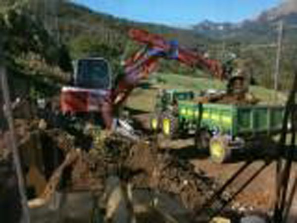 riempimento suolo