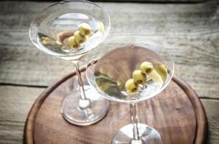 Happy hour martini