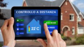 controllo casa a distanza, accensione sistemi a distanza, controllo remoto della casa