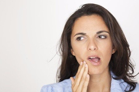 mouth pain, teeth cleaning