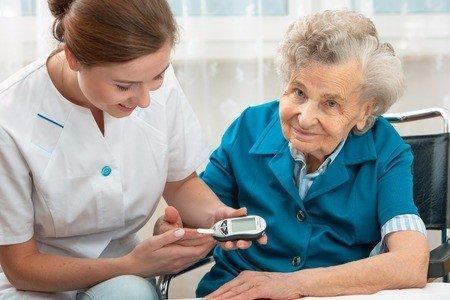 senior dental care, diabetes , oral health