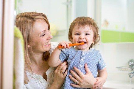 infant dental care, oral care