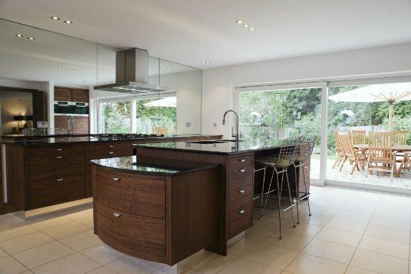 cucina completa in legno