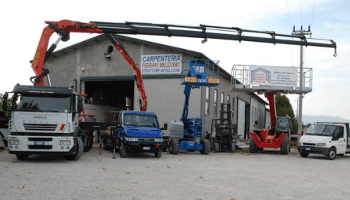 carpenteria, Ferrari, camion, serramenti, strutture metalliche
