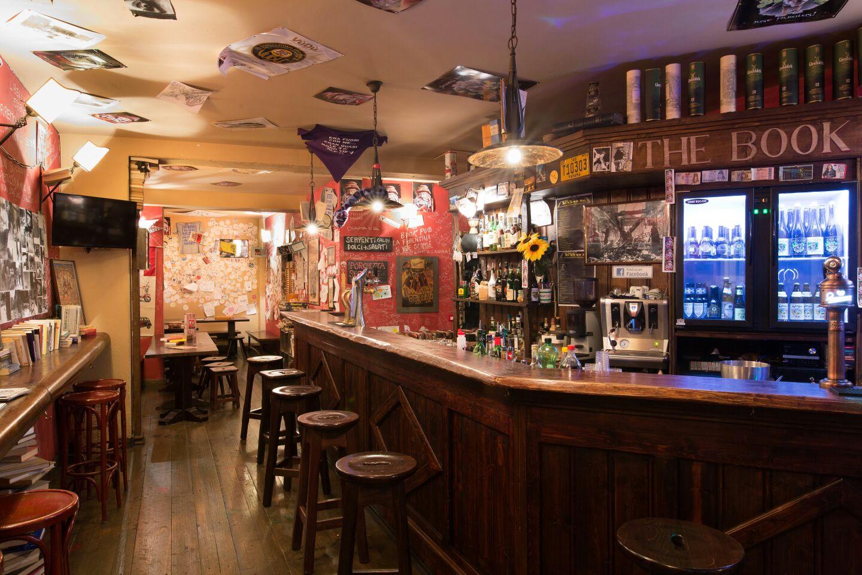 interno locale the book pub