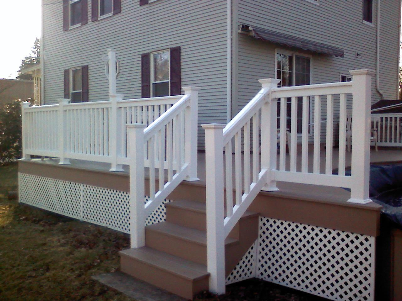 Vinyl Deck Railings 94