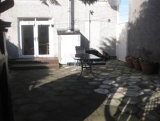 Before patio and groundwork
