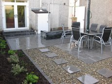 Patio and pathway design