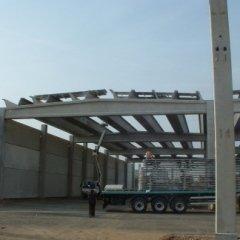 Montaggio copertura industriale
