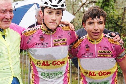 foto di due ciclisti