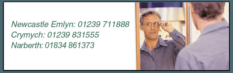 Eyecare - Newcastle Emlyn, Carmarthenshire - Celia Vlismas Opticians - opticians