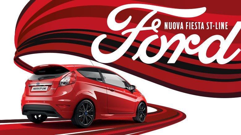 auto fiesta Ford rossa