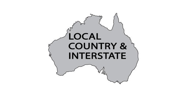 Orange removals and storage local country and interstate