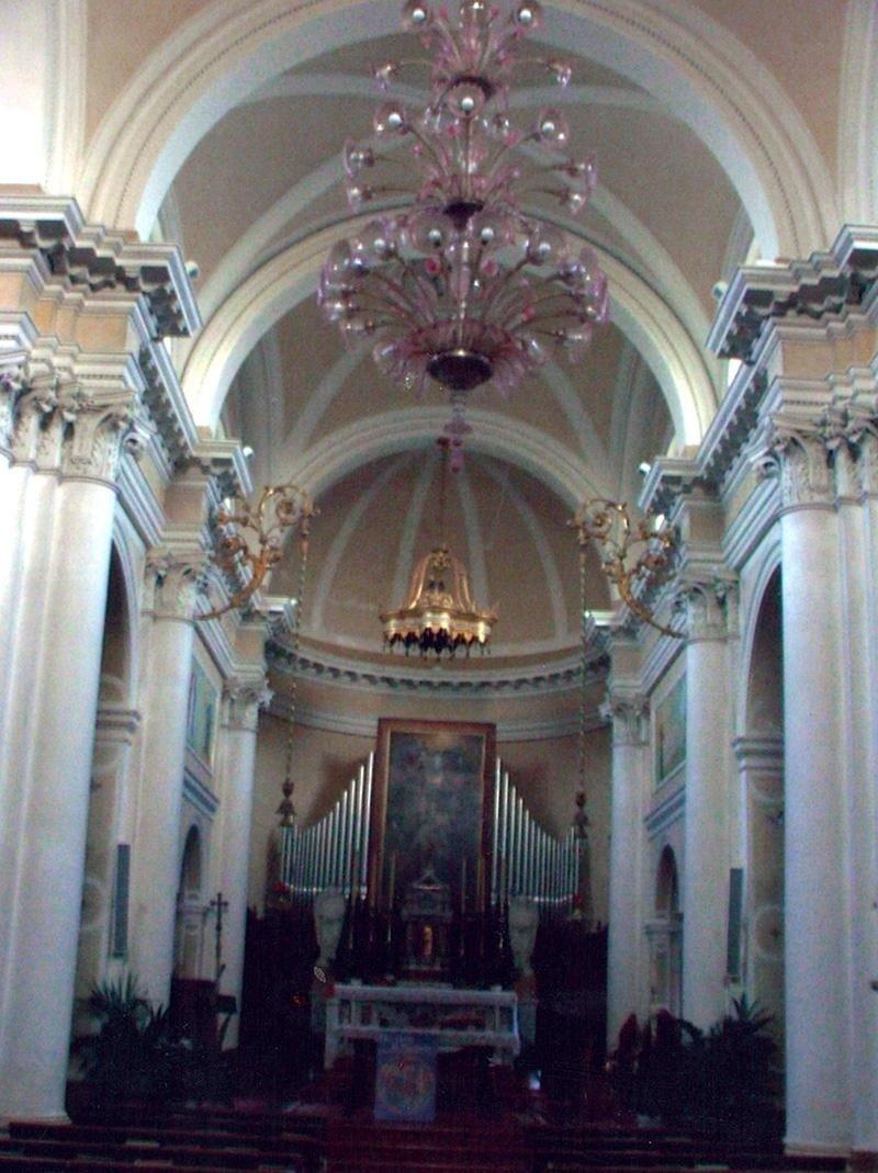 restauro pittorico interno Chiesa San Alberto Zero Branco