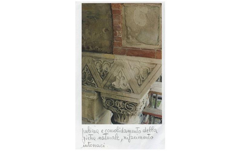 Pulizia e consolidamento della pietra naturale,rifacimento intonaci
