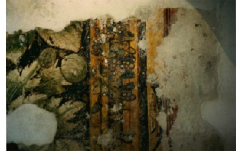 dettaglio restauro affreschi