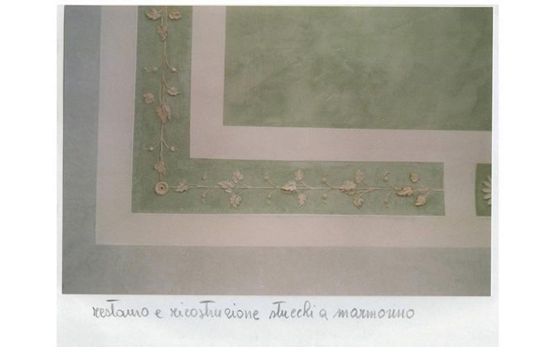 Restauro e ricostruzioni stucchi a marmorino