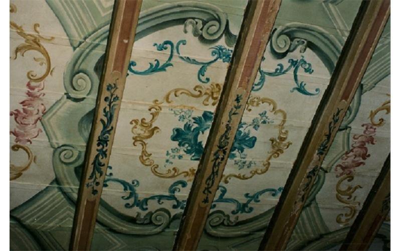 restauro soffitti in legno
