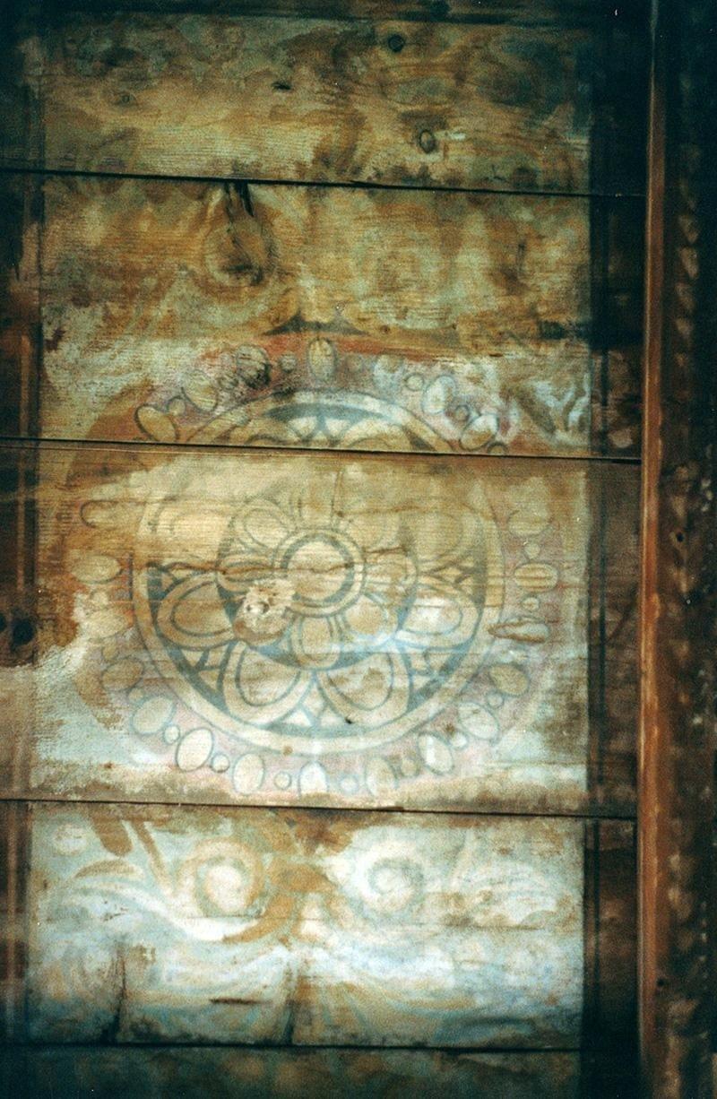restauro pittorico su fondo ligneo
