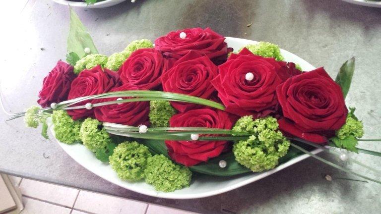 Floreales Tischgesteck