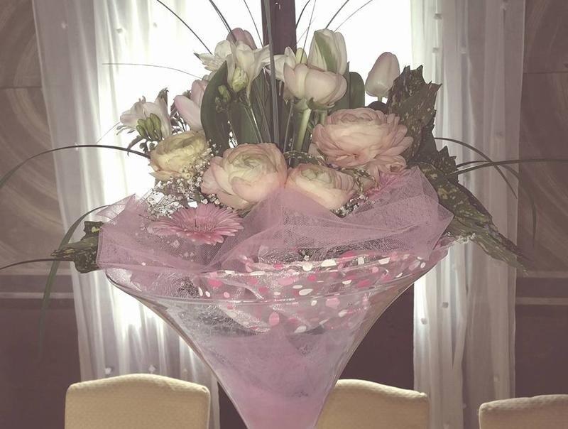 allestimento fiori ristorante feltre