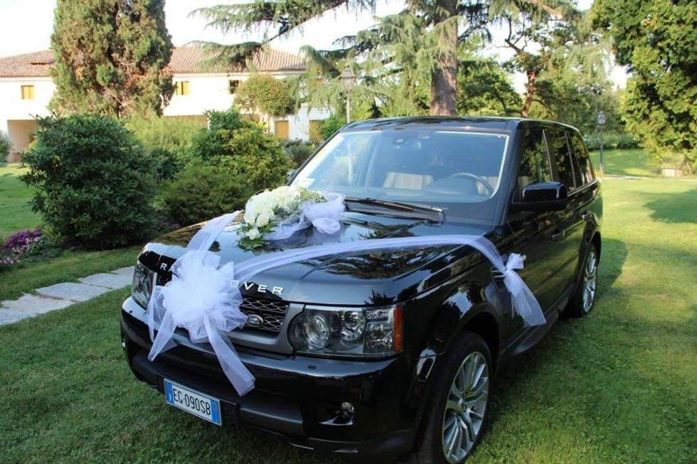 fiori auto sposa