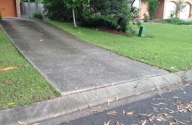 hawkins enterprises cracked driveway
