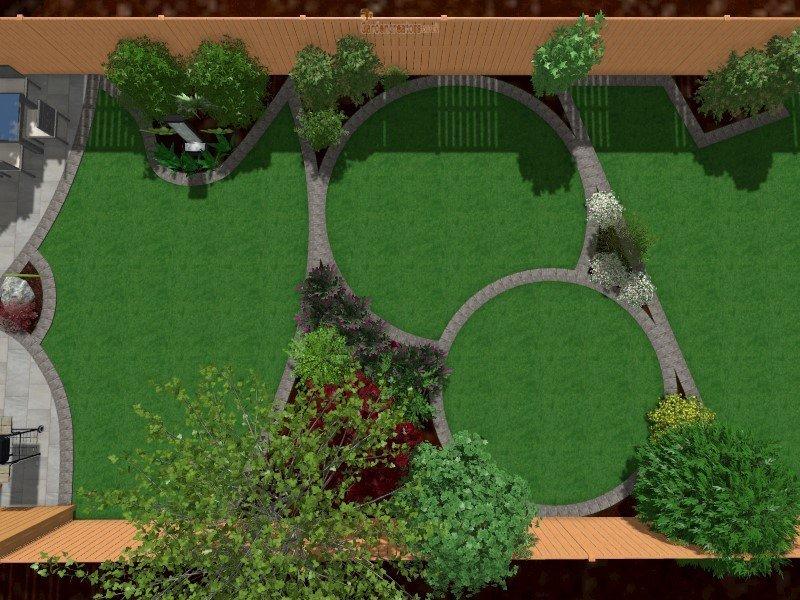 Side View Garden 3D