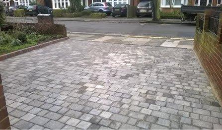 front garden driveway