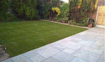 landscape garden paving