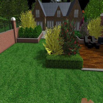 traditional garden design construction