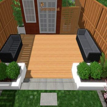 hardwood decking installation