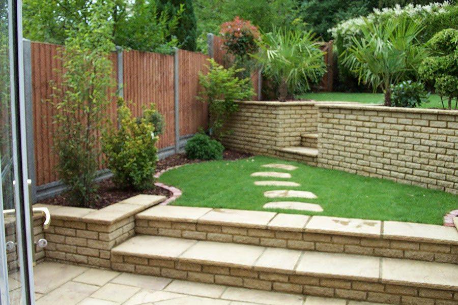 design & landscaped garden