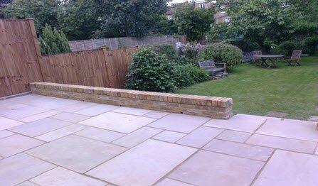 paving slabs & retaining walling