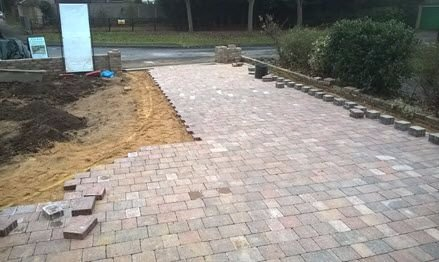 drive installer tegula block paving