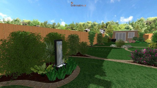 Gardens before and after landscaping for Garden design 3d online