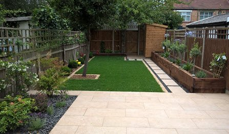Small Garden Design Build