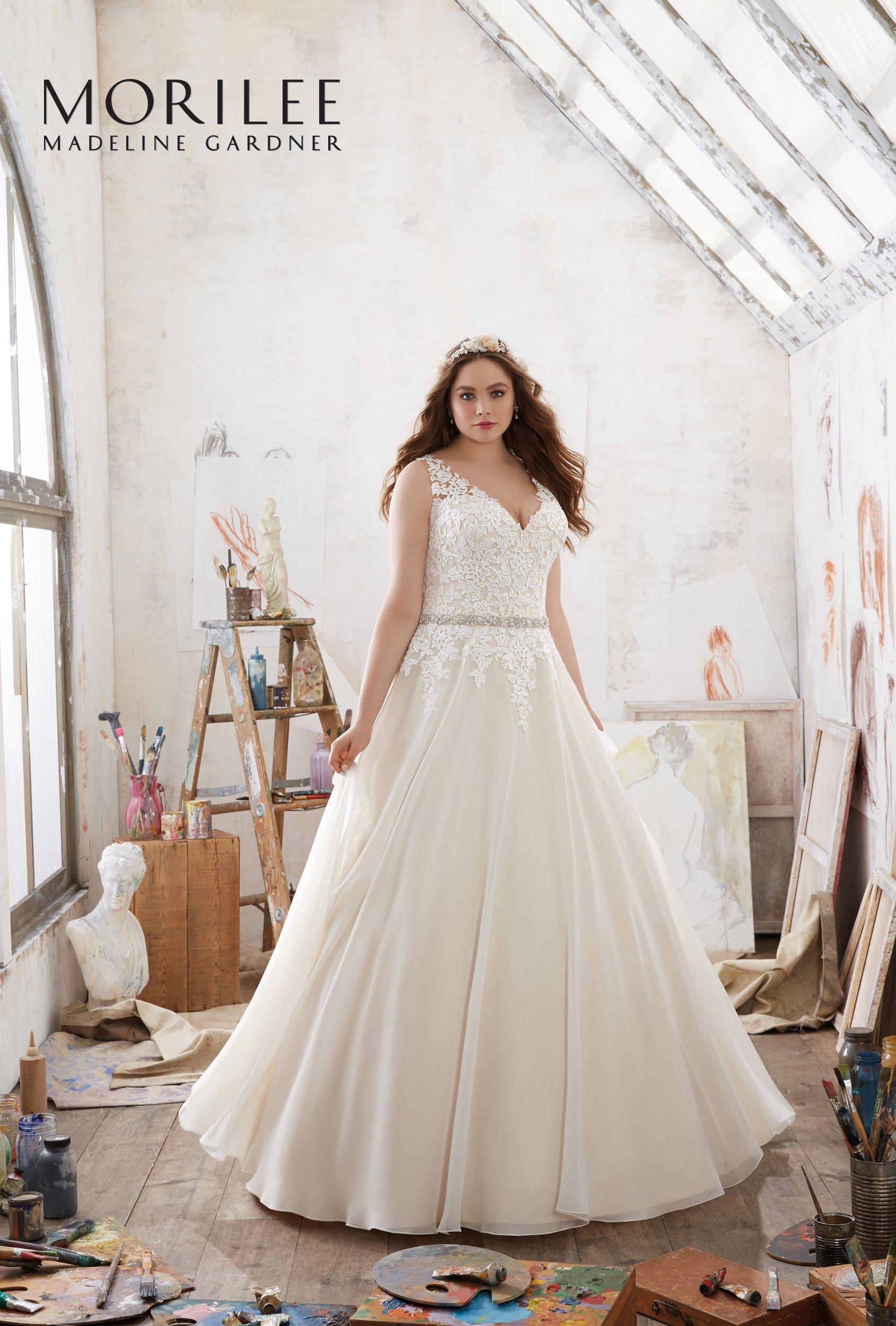abito da sposa a marchio MORILEE Madeline  Gardner