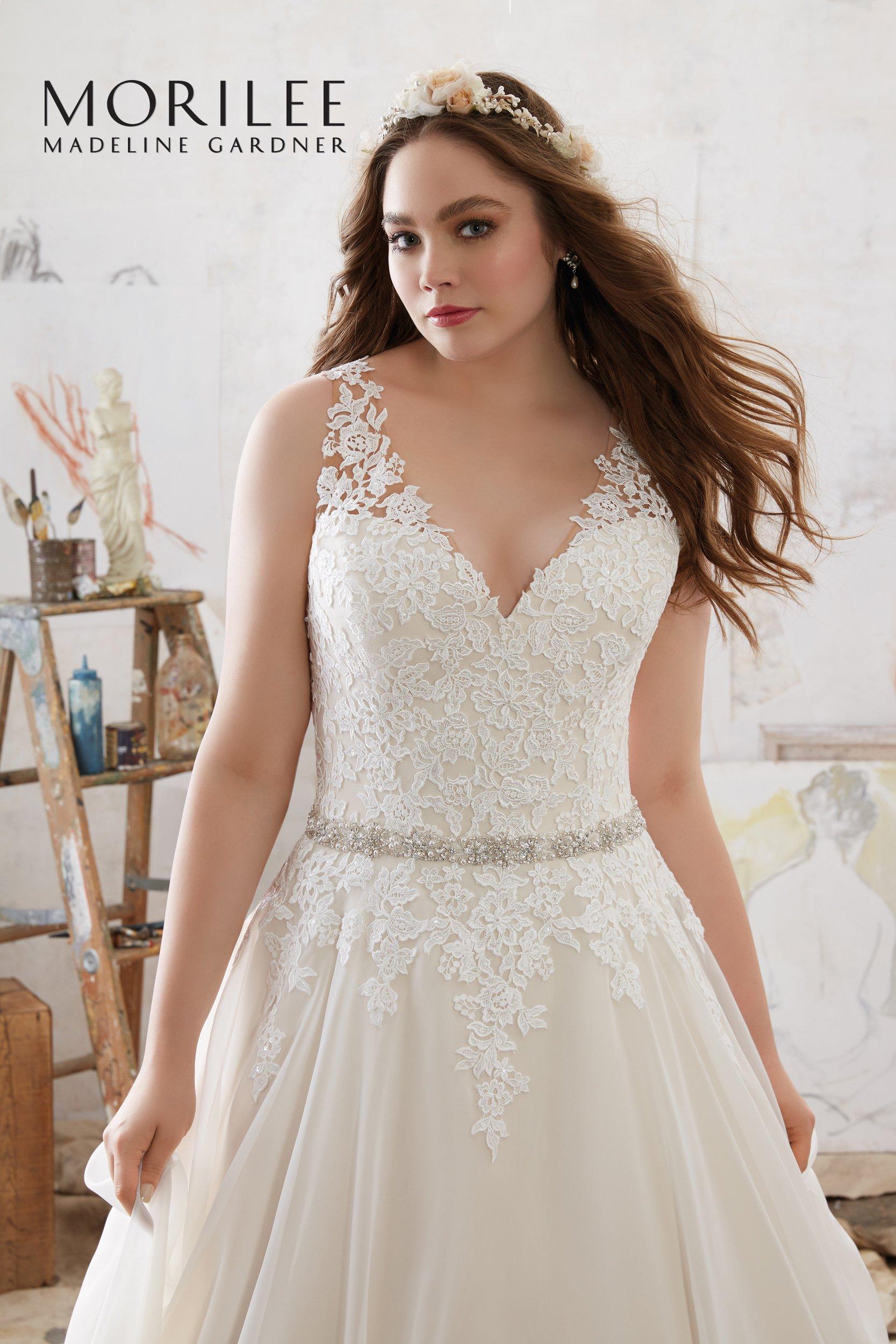 vestito da sposa in pizzo