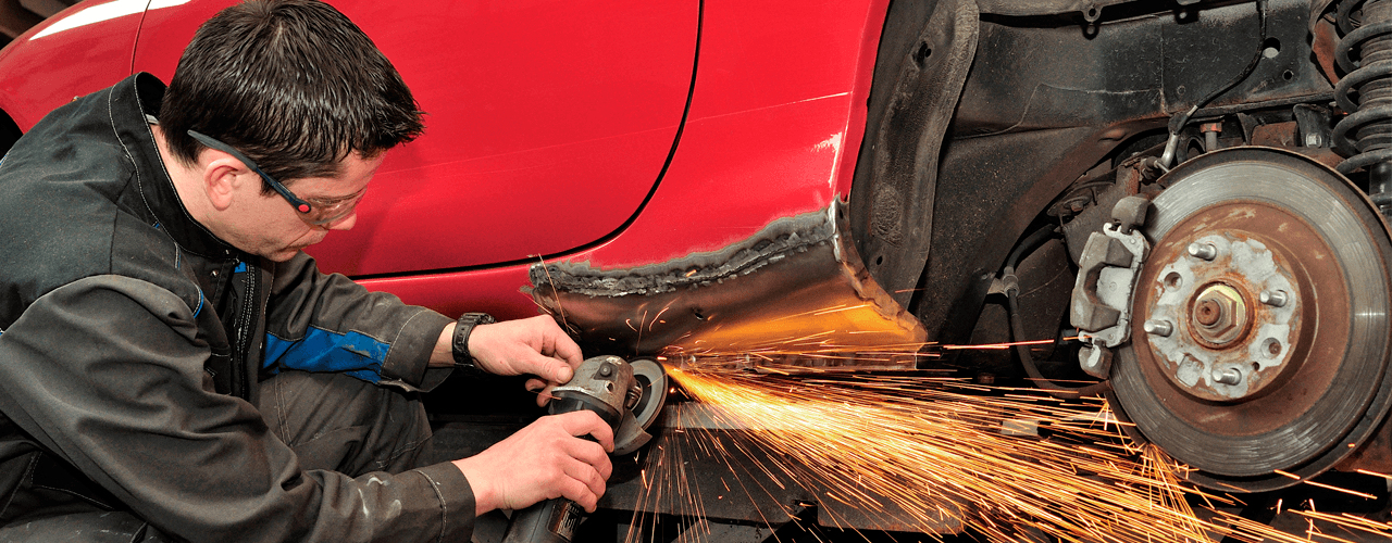 High-quality car welding services